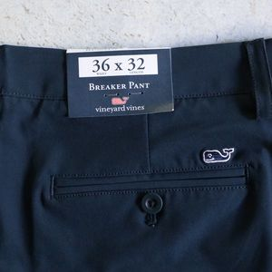 Vineyard Vines Pants - Vineyard Vines Navy Performance Breaker Pants